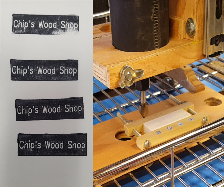 Basic CNC Router Engraving with Open Source Software