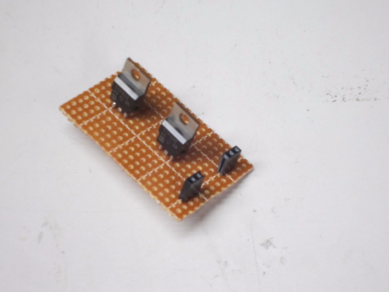 Solder the Small Female Headers