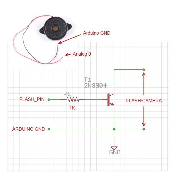 Simplest Arduino Based Sound / Lightning / Thunder Trigger