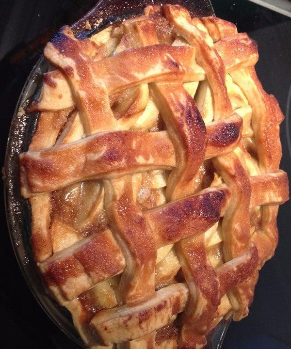 Apple Lattice Pie