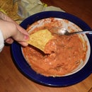 The Best Mexican Chip Dip in the whole entire world! :) (well my world)