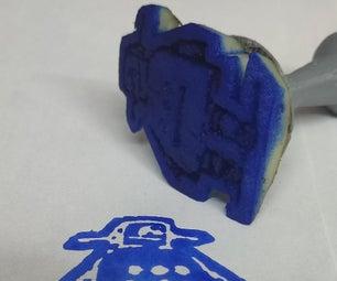 Logo/Photo Stamp: Using TinkerCad, Potato and 3D Printing