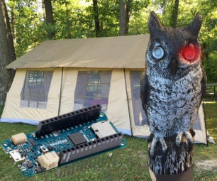 Reverse Engineered Bumper Sensor Campsite Security Alarm