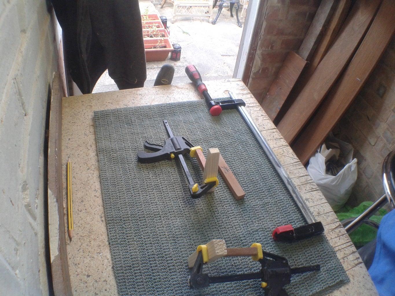 Wood Burn & Glue Up