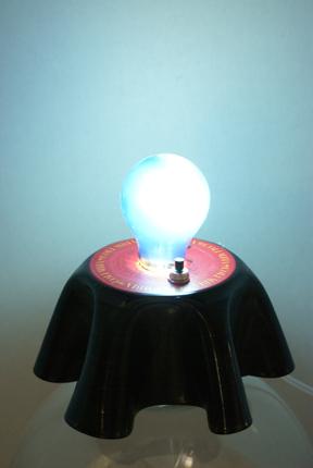 Vinyl Record Table Lamp