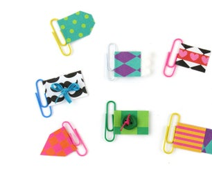 Scrapbooking Paperclips Bookmarks