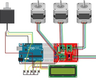 Magnetic Loop Controller for 4 Antennas