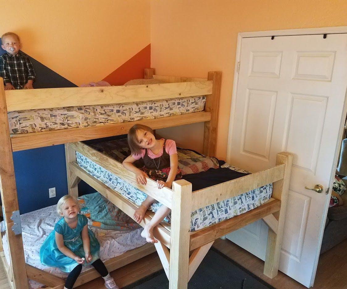 Children's Triple Bunk Bed