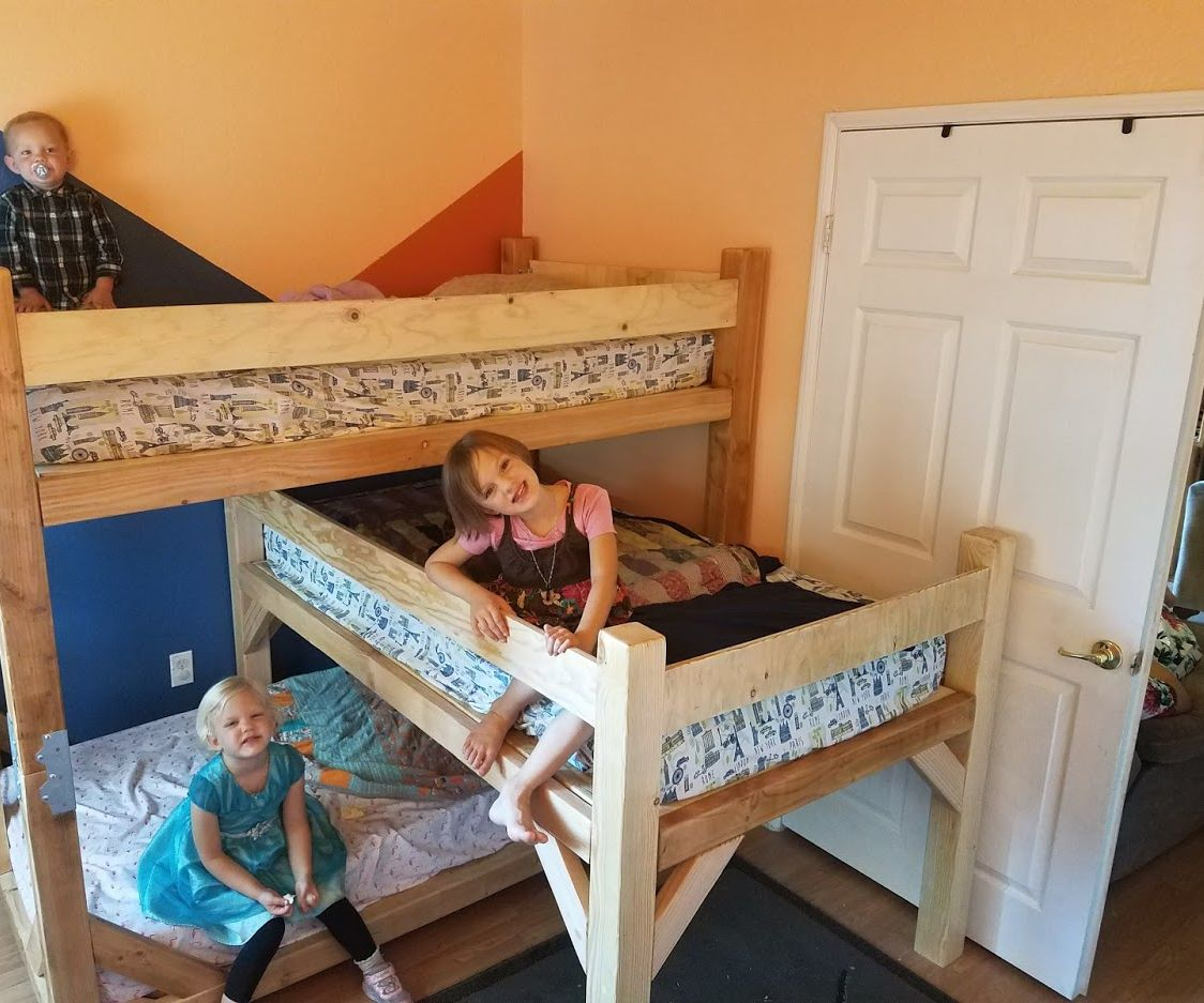 Picture of: Children S Triple Bunk Bed 20 Steps With Pictures Instructables