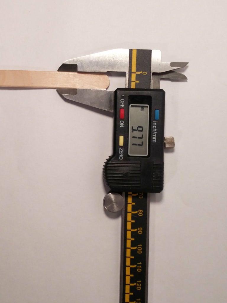 The Scissor Mechanism: Designing the Craft Sticks