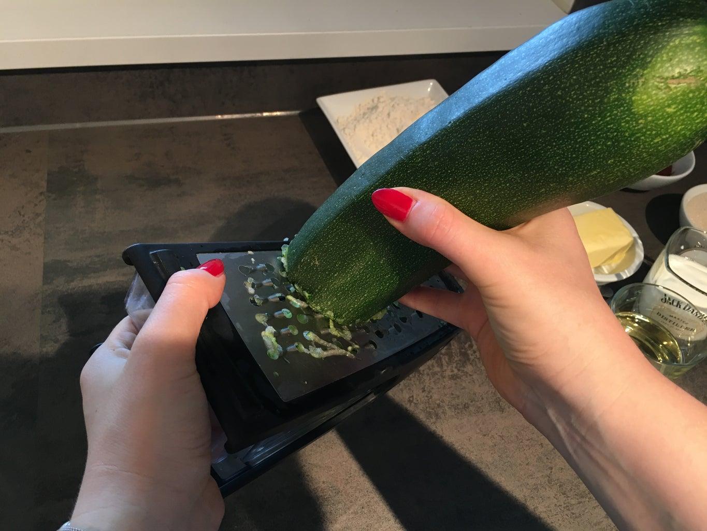 Shred the Zucchini