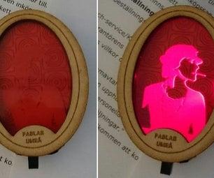 Illuminated Brooch