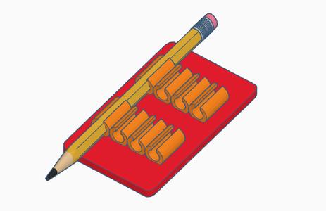 Pen-Pencil Platform Holder