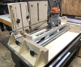 Router Drum Mill