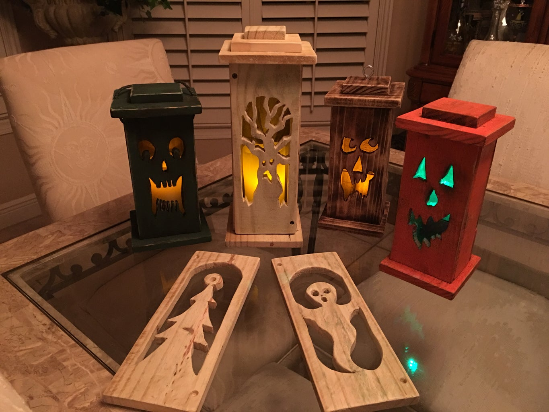 Changeble Face Lanterns