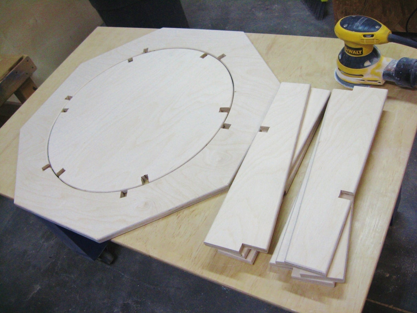 Clean Up and Prepare Wood Pieces