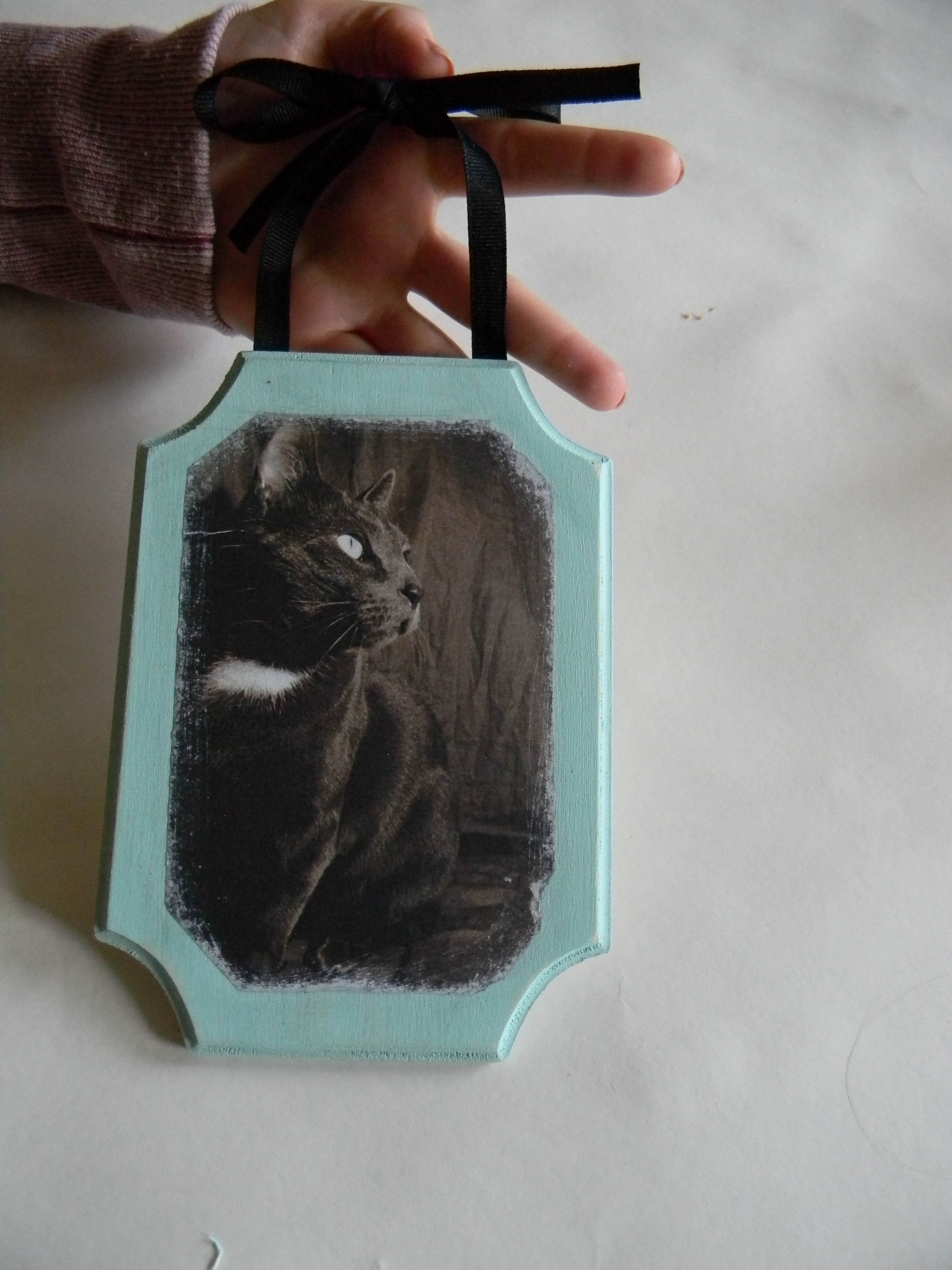 Transferring a Picture Onto Wood