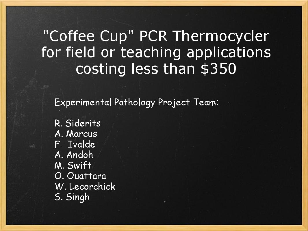 Coffee Cup - PCR Thermocycler costing under 350$
