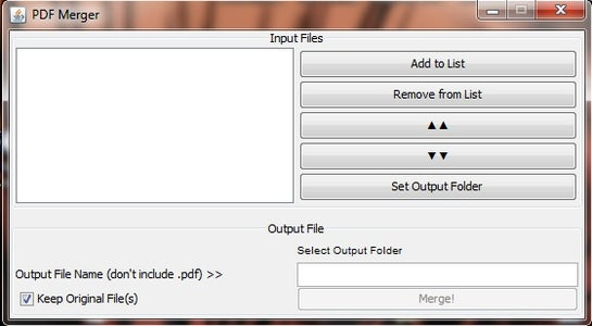 Opening the File / Program Walkthrough