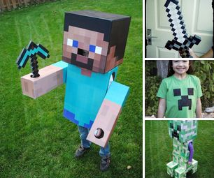 DIY Minecraft Halloween