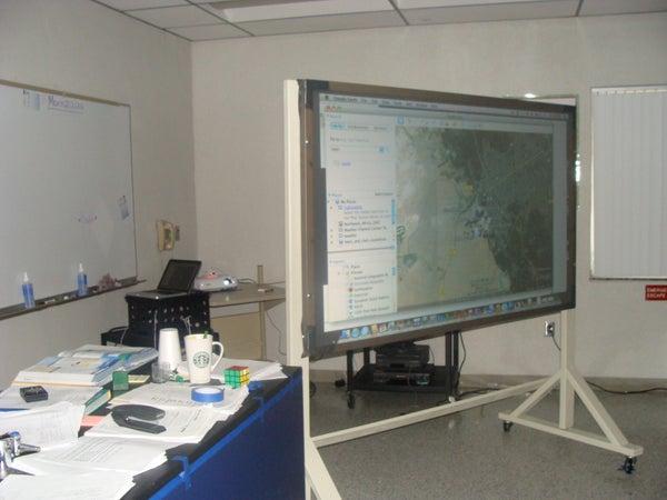 85 Inch Rear Projection Wiimote IWB (Interactive White Board)
