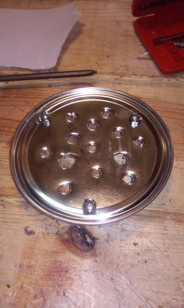 Step 8: the Burner Plate