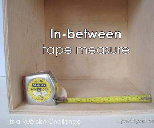 In-between tape measure