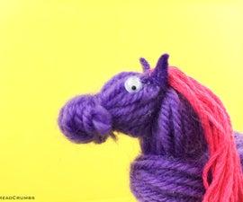 Mini Yarn Horse