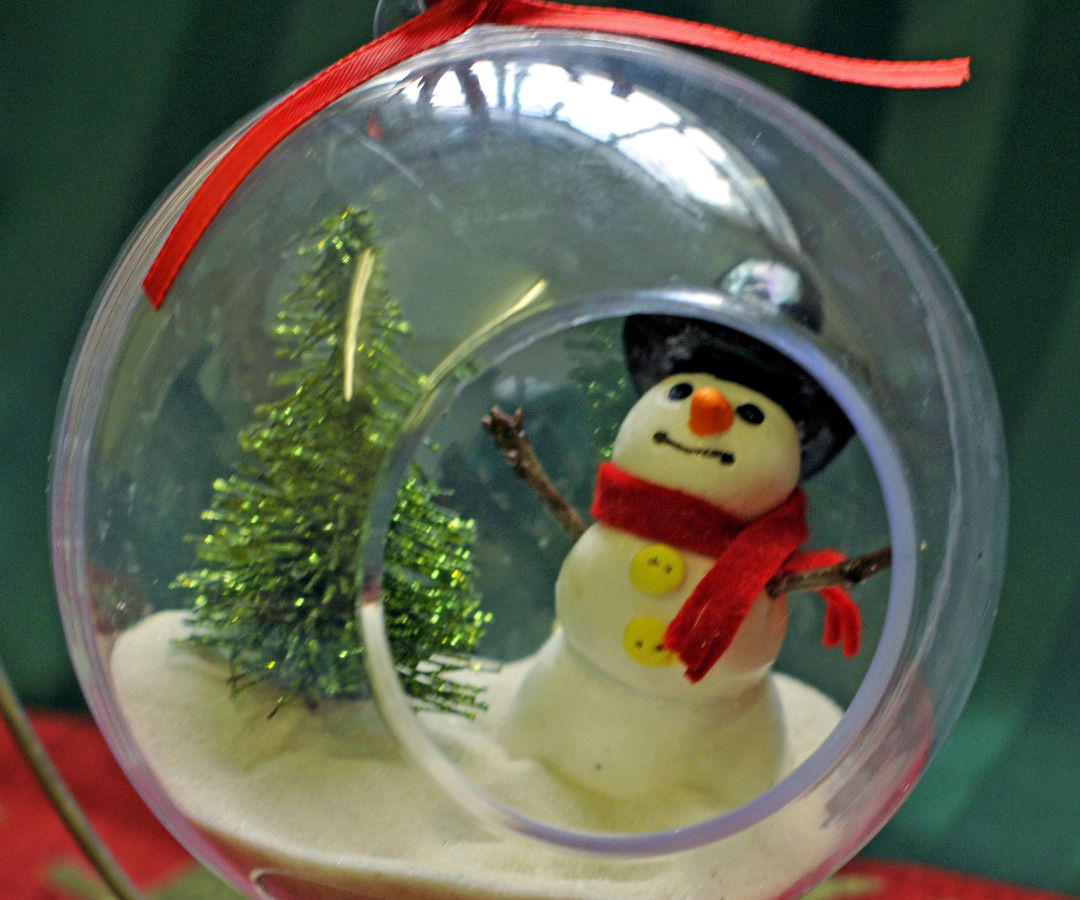 Let it Snow! Snowman Ornament