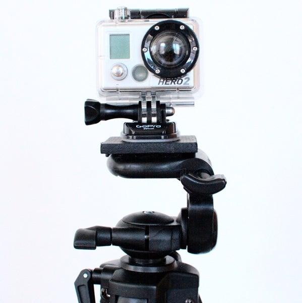 GoPro Tripod Stand Plate