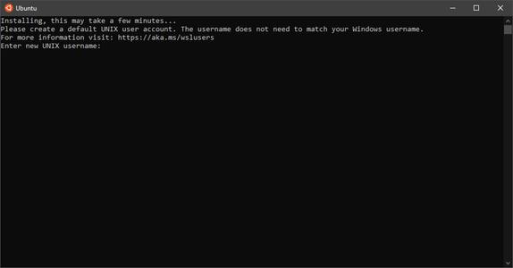 Open WSL (Ubuntu)