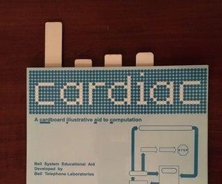 CARDIAC (CARDboard Illustrative Aid to Computation) Replica