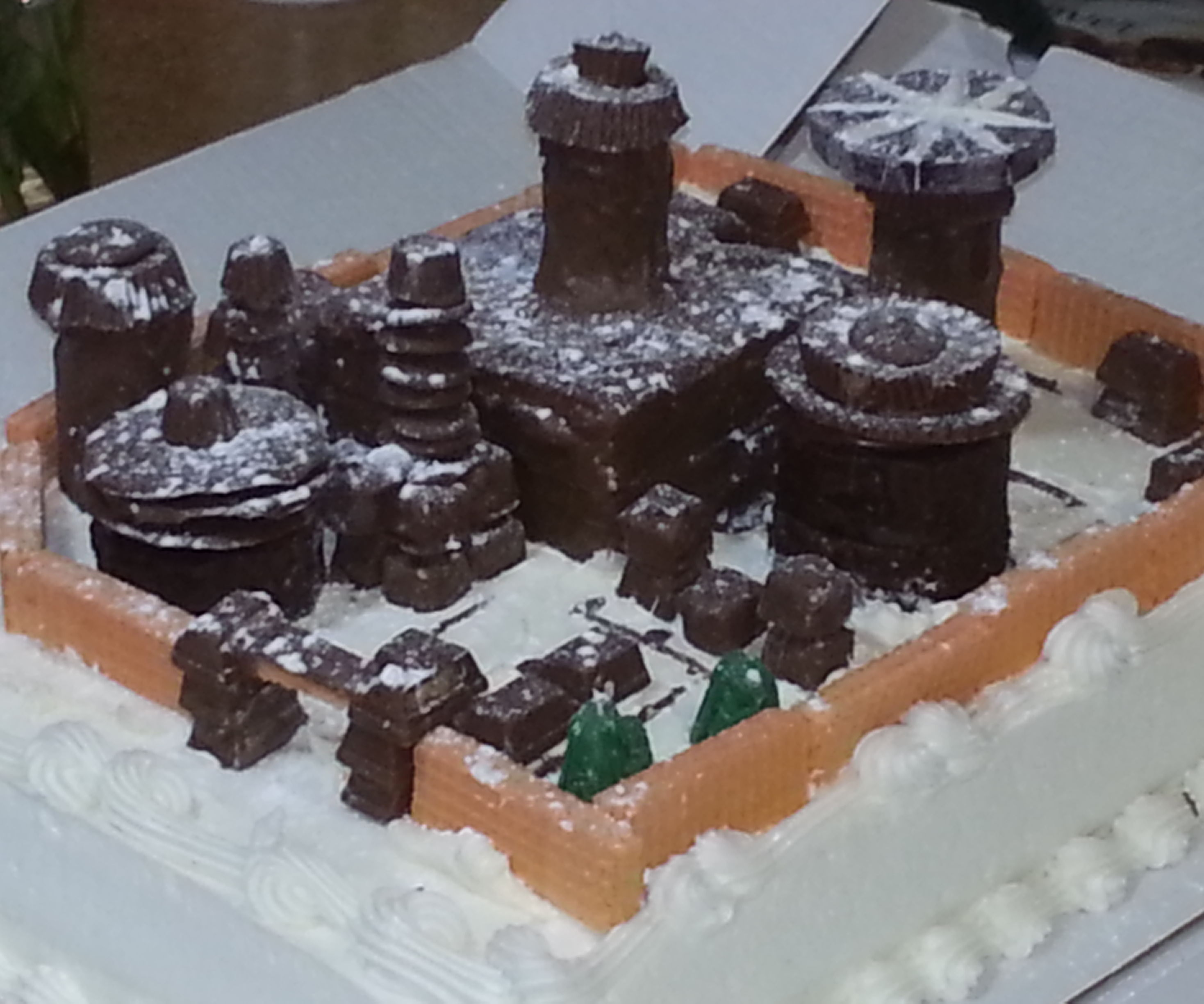Winterfell Cake - From Game of Thrones