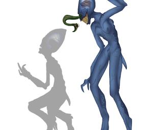 How to Draw an Alien ( Crusoe)