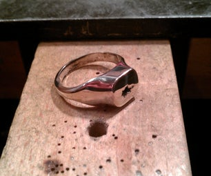 How to Make a Silver Signet Ring