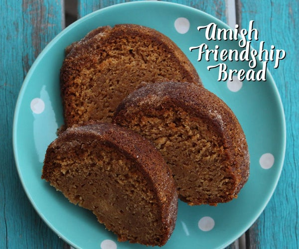 Amish Friendship Bread Starter and Recipe!