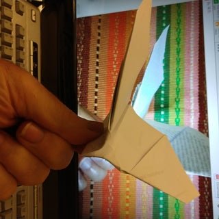 Flapping Paper Plane