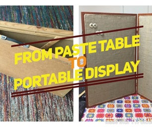 From Paste Table to Portable Jewellery Display Case.