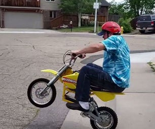 Battery Powered Motorcycle