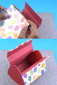 Let's Cover the Purse Using Printed Paper!