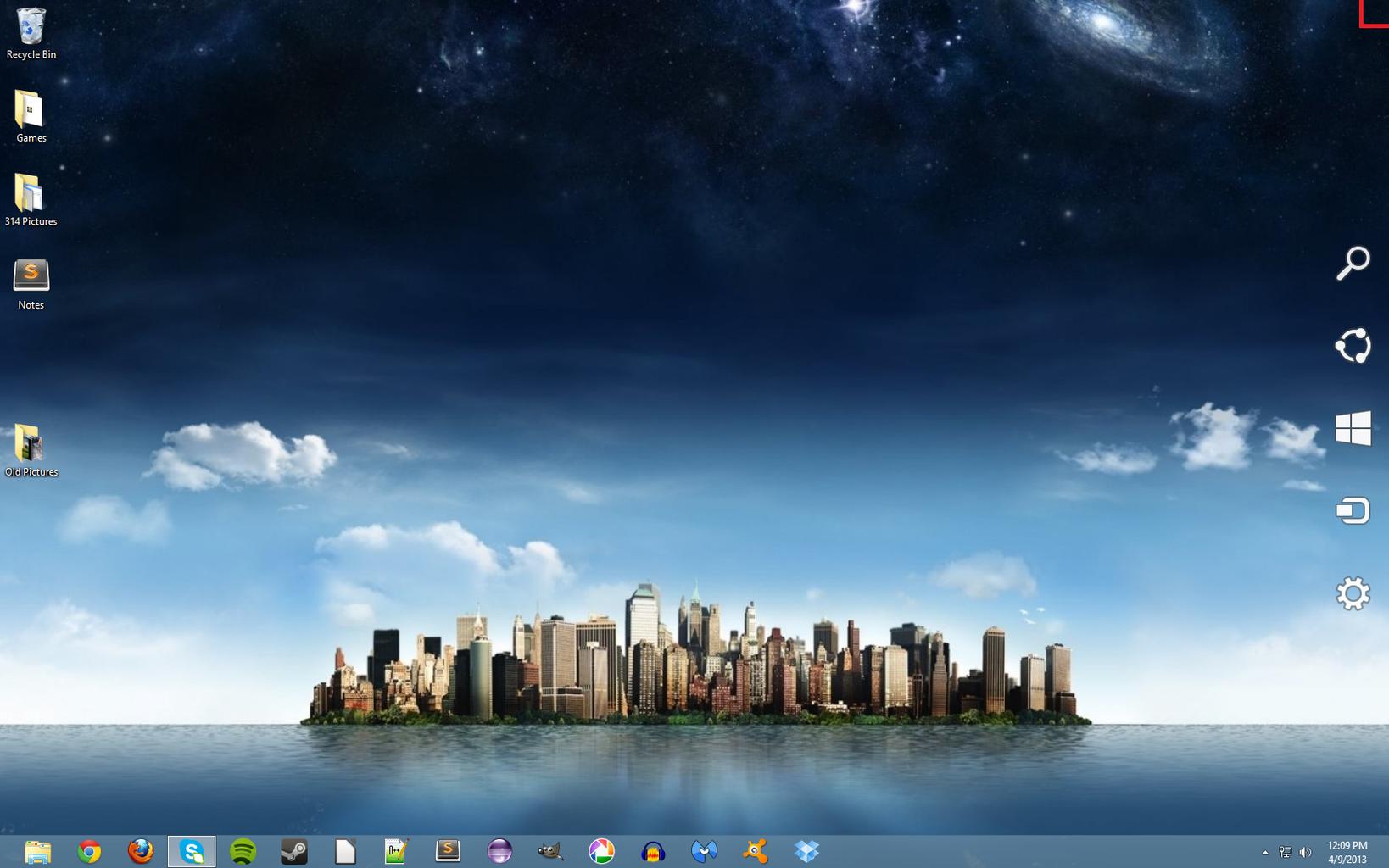 Windows 8 Tricks: Using the Corners and Charms Bar.