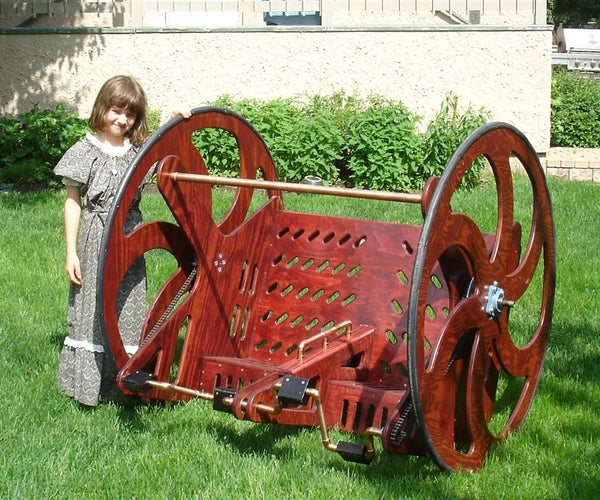 The SteamRoller Riding Contraption