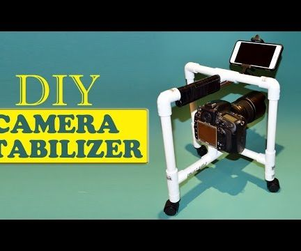 DIY Camera Stabilizer Steadicam