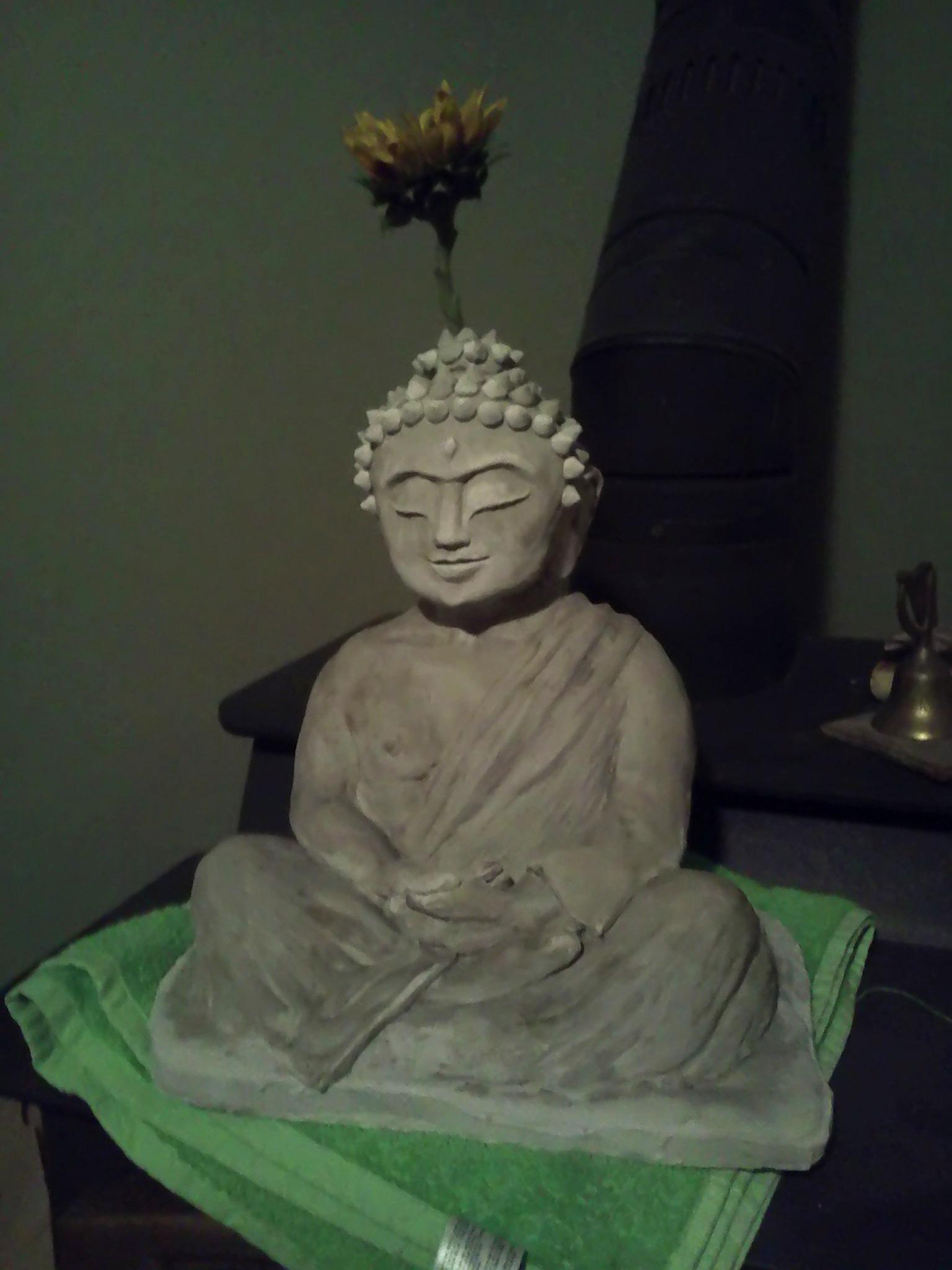 Meditating Buddha Statue: How I Made One