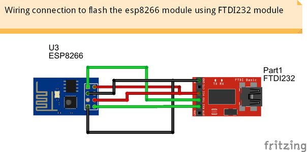 Flashing Esp8266