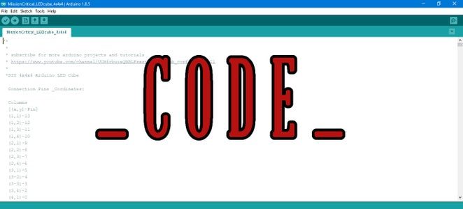 Upload the CODE
