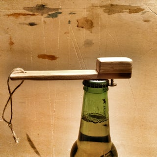 One Hand Bottle Opener