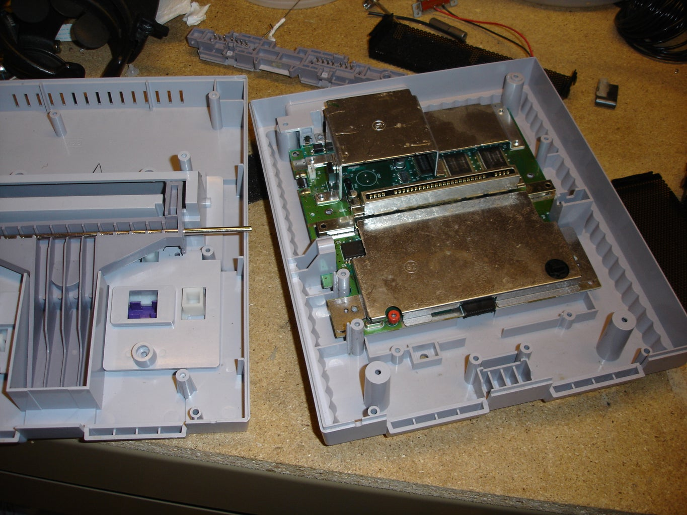 Take Apart the Old Super NES