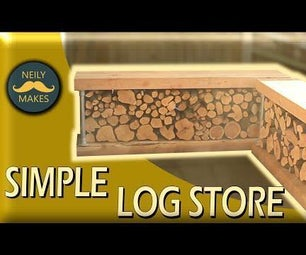Easy Log Store - Sleeper and Scaffold Construction