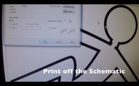 Print Off the Schematic